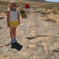 Guest Post: 320 million year old glacier tracks at Oorlogskloof