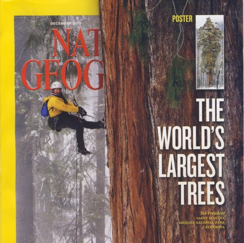 National Geographic Cover - Dec 2012