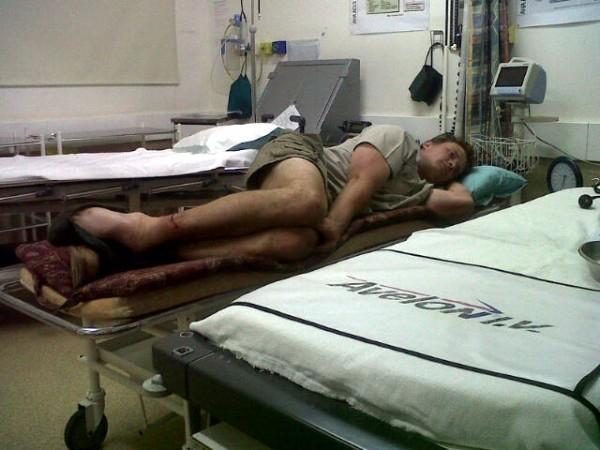 Darius in Hospital 2
