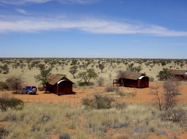 Gharagab Camp, Kgalagadi Transfrontier Park. ©WMB/notesfromafrica.wordpress.com