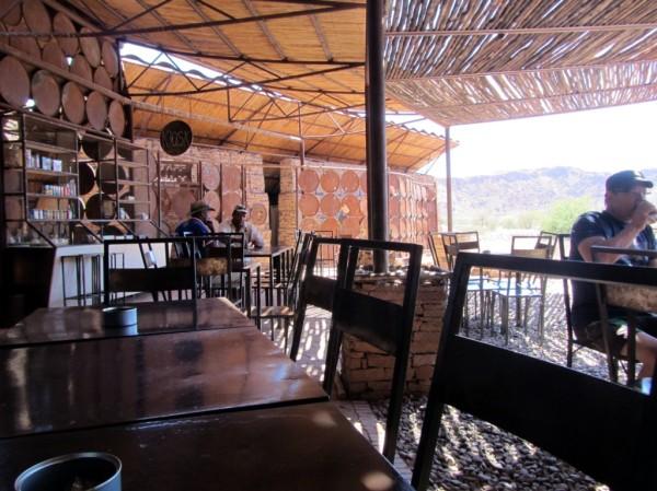Twyfelfontein Kiosk area ©LB/notesfromafrica.wordpress.com