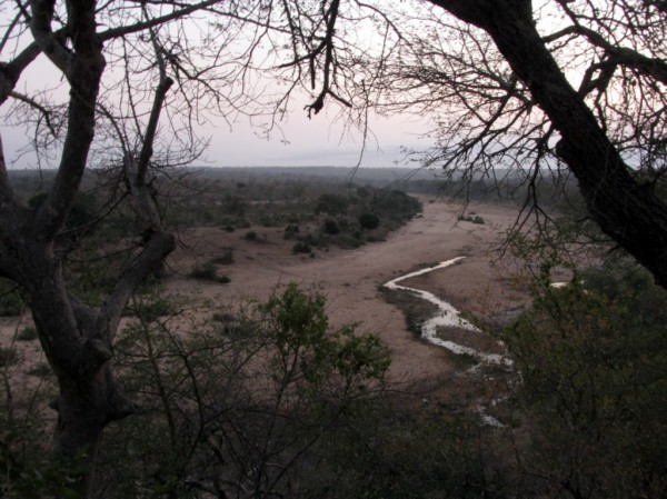 The Mbiyamiti River in the early morning. ©LB/notesfromafrica.wordpress.com