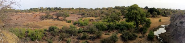 Panoramic view of the Red Rocks area - CLICK on image to see a better resolution image ©WMB/notesfromafrica.wordpress.com